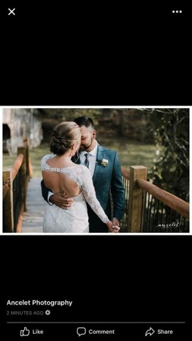 Moment from: 11-08-2017 that mentions Beth of  Fringe.Salon - Pigeon Forge, TN. This image is part of our Wedding Styling/Updo Portfolio Section.